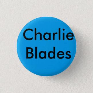 ブルックリンチャーリーの刃のbage 3.2cm 丸型バッジ