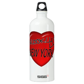 ブルックリンニューヨークのハートのロゴ SIGG トラベラー 1.0L ウォーターボトル