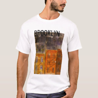 ブルックリンニューヨークシティの男性Tシャツ Tシャツ