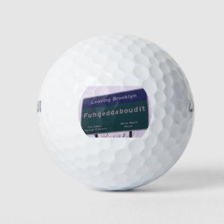 ブルックリンニューヨークFuhgeddabouditを去ること ゴルフボール