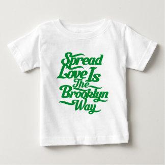 ブルックリン愛緑 ベビーTシャツ