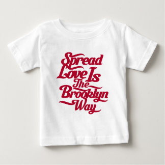 ブルックリン愛赤 ベビーTシャツ