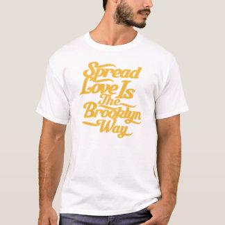 ブルックリン愛黄色 Tシャツ