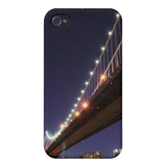ブルックリン橋およびマンハッタンスカイライン iPhone 4/4S カバー