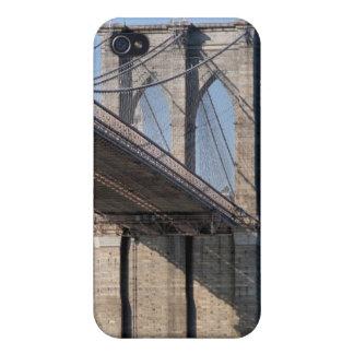ブルックリン橋およびマンハッタンスカイライン iPhone 4 CASE