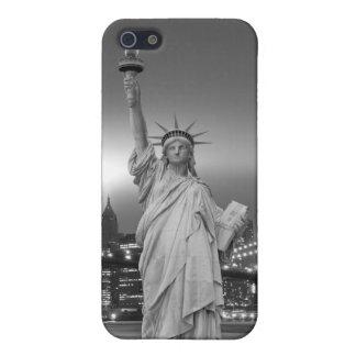 ブルックリン橋そして自由の女神 iPhone 5 カバー