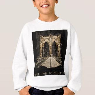ブルックリン橋のコピー スウェットシャツ