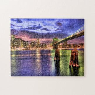 ブルックリン橋のパズル ジグソーパズル