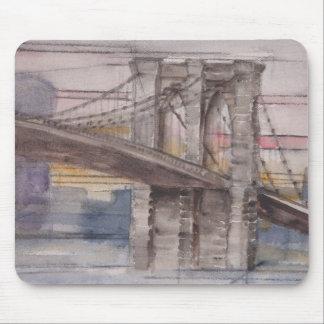 ブルックリン橋のマウスパッド マウスパッド