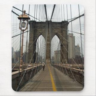 ブルックリン橋の写真撮影 マウスパッド