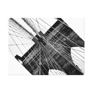 ブルックリン橋の抽象芸術のキャンバスのプリント キャンバスプリント