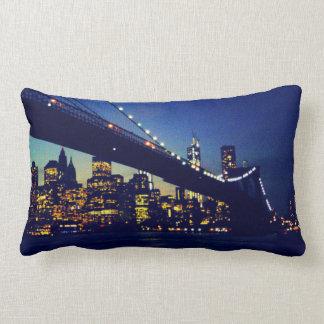 ブルックリン橋の枕 ランバークッション