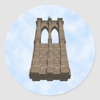 ブルックリン橋の柱: 3Dモデル: ステッカー