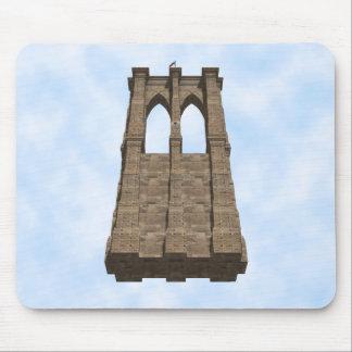 ブルックリン橋の柱: 3Dモデル: マウスパッド