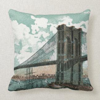 ブルックリン橋の装飾用クッション クッション