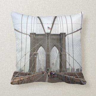 ブルックリン橋の見通し クッション
