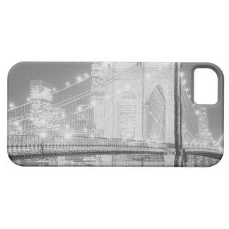 ブルックリン橋の黒及び白 iPhone SE/5/5s ケース