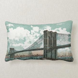 ブルックリン橋のLumbarの枕 ランバークッション