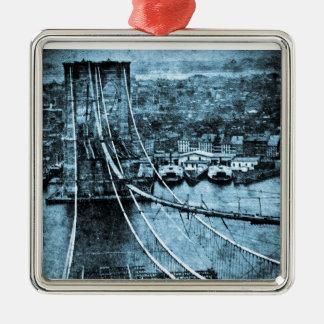 ブルックリン橋ニューヨークの1870年代の建築 メタルオーナメント
