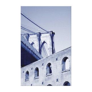 ブルックリン橋ニューヨークシティ キャンバスプリント