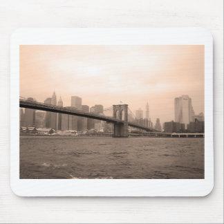 ブルックリン橋ニューヨーク マウスパッド