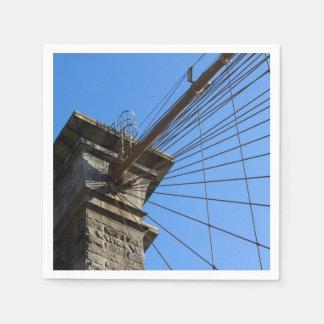ブルックリン橋01 スタンダードカクテルナプキン