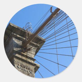 ブルックリン橋01 ラウンドシール