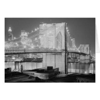 ブルックリン橋1982年 カード