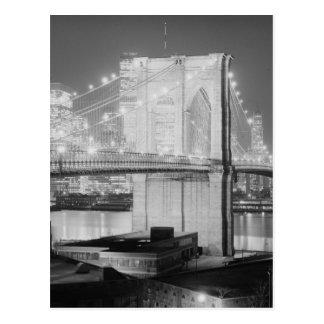 ブルックリン橋1982年 ポストカード