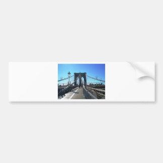 ブルックリン橋2 バンパーステッカー