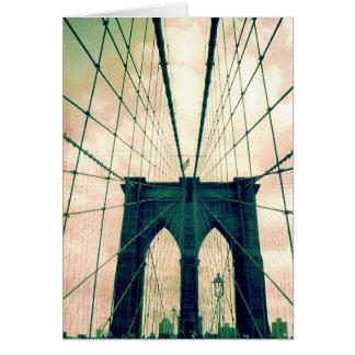ブルックリン橋 カード