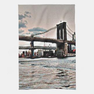 ブルックリン橋 キッチンタオル