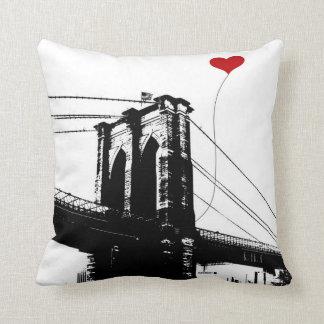 ブルックリン橋 クッション