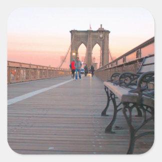 ブルックリン橋 スクエアシール