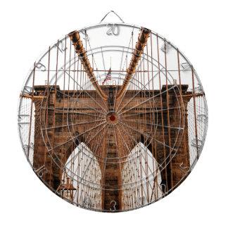 ブルックリン橋 ダーツボード