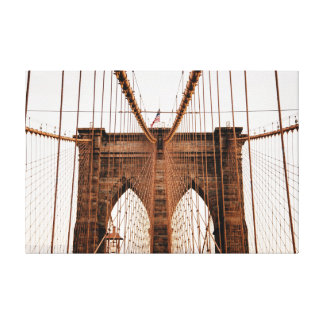 ブルックリン橋、ニューヨークシティ キャンバスプリント