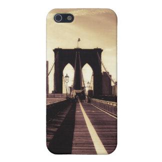 ブルックリン橋-ニューヨークシティ iPhone SE/5/5sケース