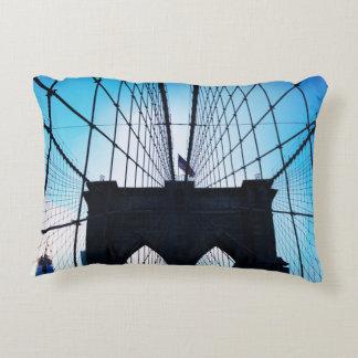ブルックリン橋、ニューヨーク アクセントクッション