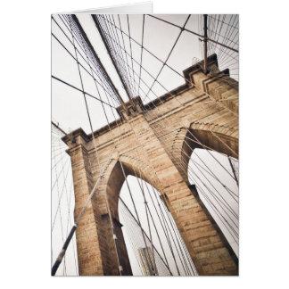 ブルックリン橋、ニューヨーク カード