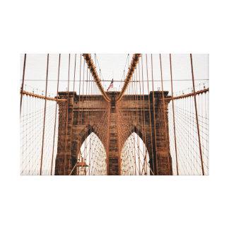 ブルックリン橋、ニューヨーク キャンバスプリント