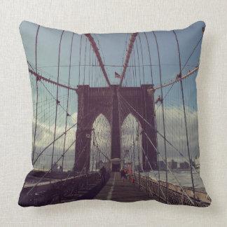 ブルックリン橋、ニューヨーク クッション