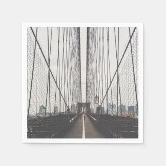 ブルックリン橋、ニューヨーク スタンダードカクテルナプキン