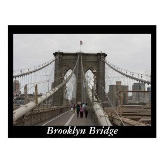 ブルックリン橋、ニューヨーク ポストカード