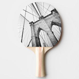 ブルックリン橋、ニューヨーク 卓球ラケット
