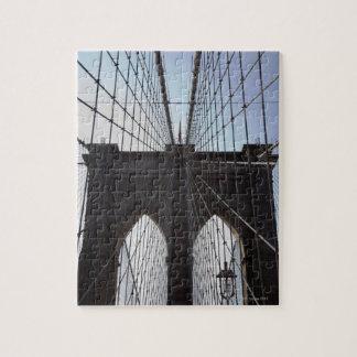 ブルックリン橋、ニューヨーク、NY、米国2 ジグソーパズル