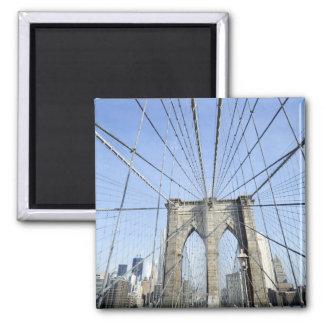 ブルックリン橋、ニューヨーク、NY、米国 マグネット