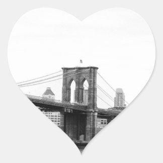 ブルックリン橋 ハートシール