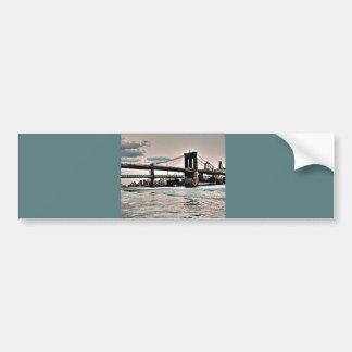 ブルックリン橋 バンパーステッカー