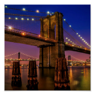 ブルックリン橋 -- ポスター