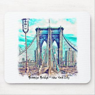 ブルックリン橋 マウスパッド